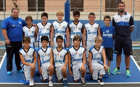 Minibasket masculino 1ª División C.B. SAN ISIDRO 2002
