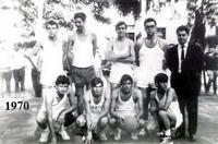 Año 1970 , de pie segundo por la izquierda