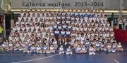 Galería de equipos 2013-2014