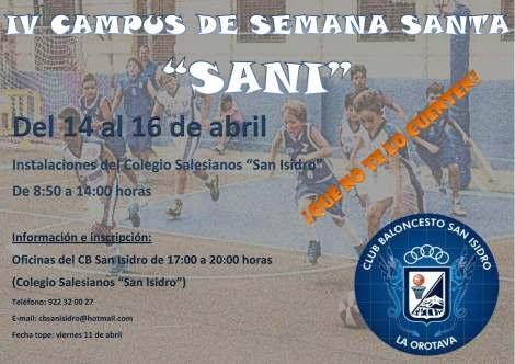 Cartel Campus Semana Santa